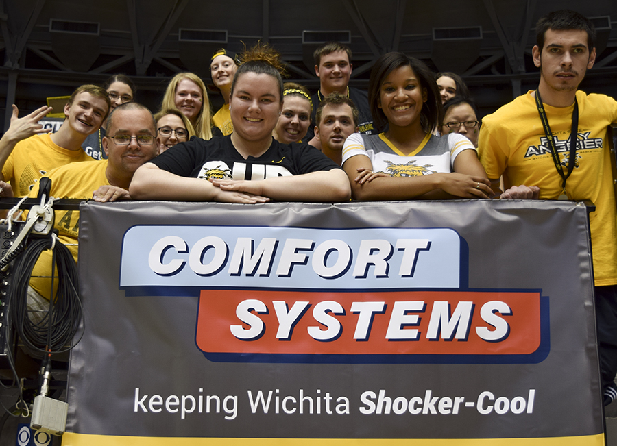 As a proud supporter of Shocker athletics, Comfort Systems recently had our own sponsored game night at the roundhouse