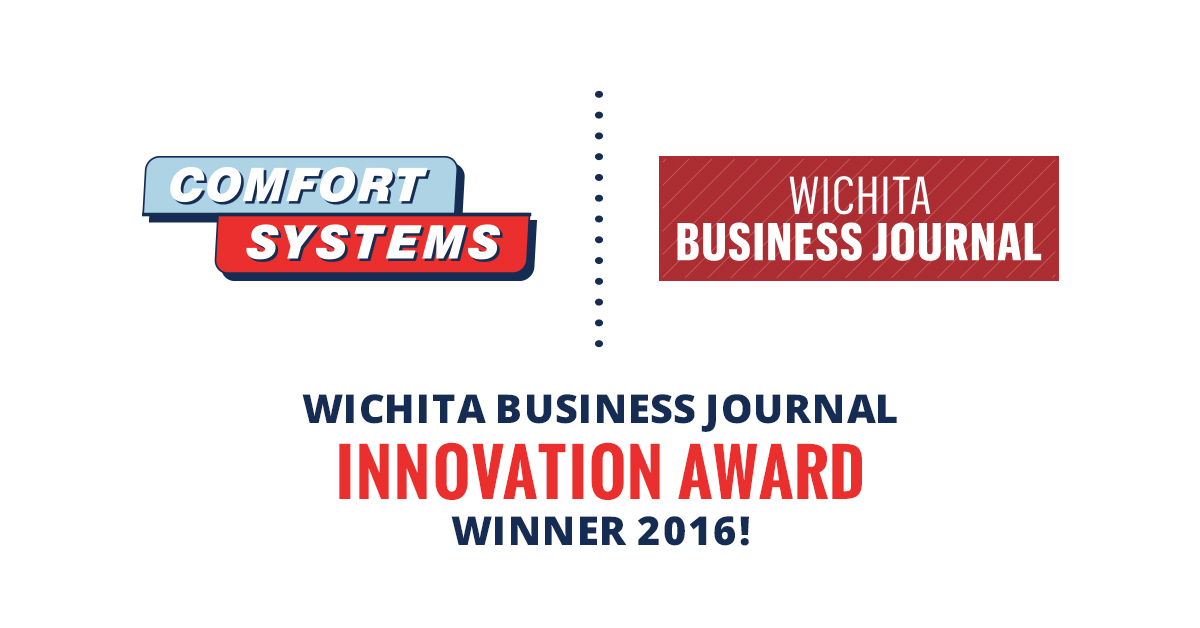 Comfort Systems wins Wichita Business Journals' 2016 Innovation Award