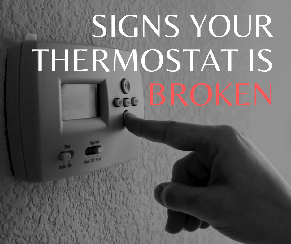 broken thermostat symptoms